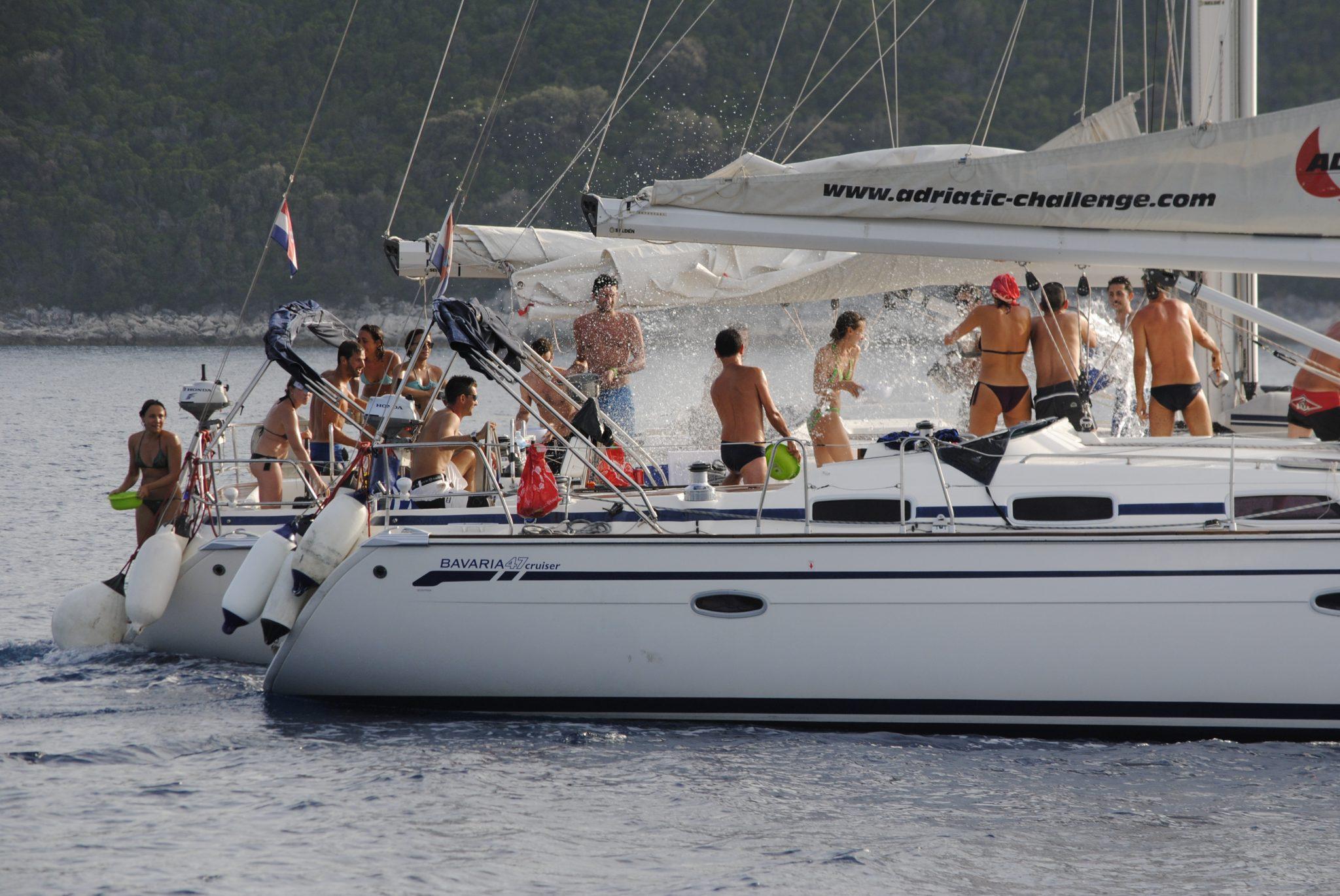 Luglio 2017: flottiglia di mezza estate