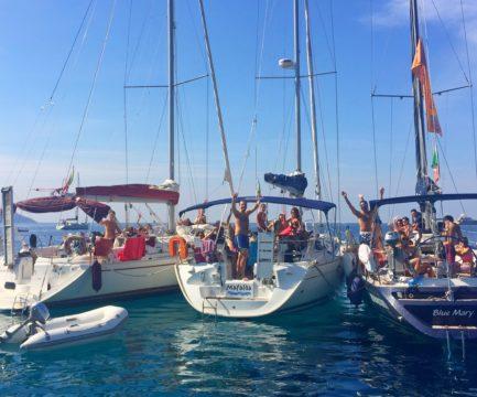 Luglio 2019: flottiglia di mezza estate